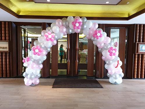 Balloon Arch Layer or Swirl Design
