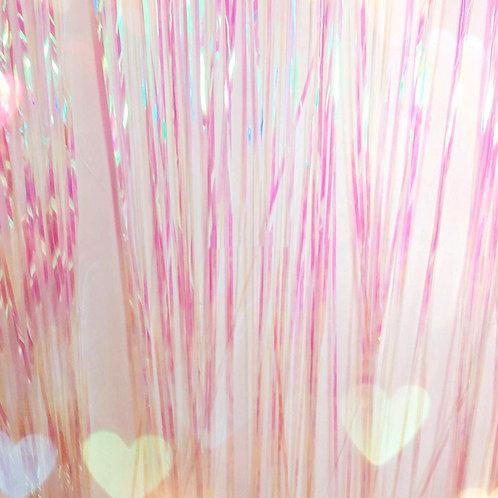 Metallic Foil Curtain 3m x 1m IRIDESCENT