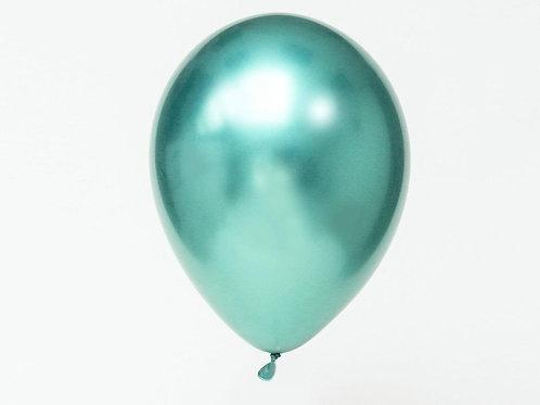 Helium balloon - Chrome Green 12 inch