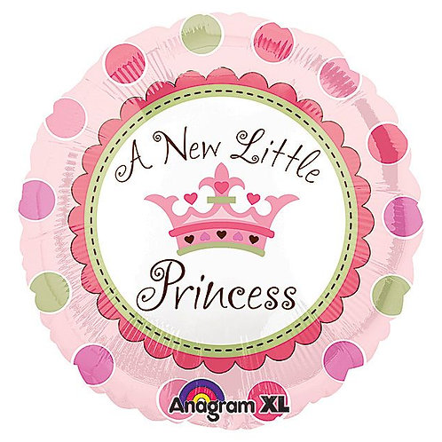 Foil Balloon - New Little Princess