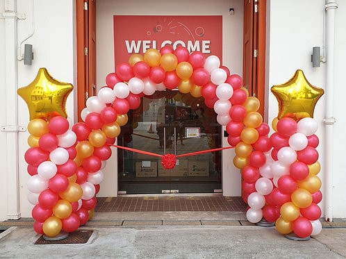 Balloon Arch Opening Ceremony