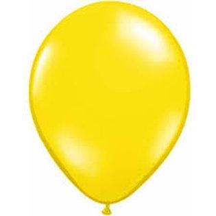 Helium Balloon - Pearl Yellow 12 inch