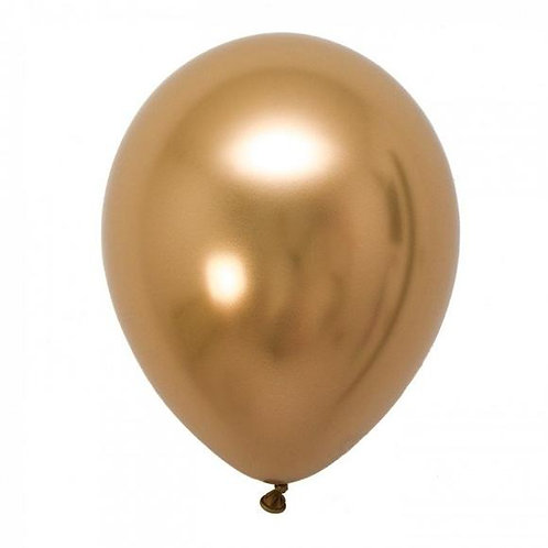 Helium balloon - Chrome Gold 12 inch