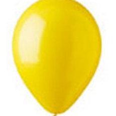 Helium balloon - Standard Yellow 12 inch