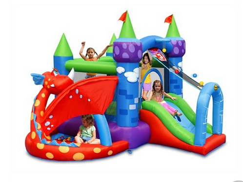 Bouncy Castle - Dragon Knight