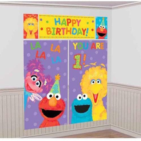 Scene Setter 1st Sesame Street