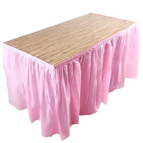 Plastic Table Skirting