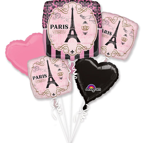 Balloon Bouque Pink Paris