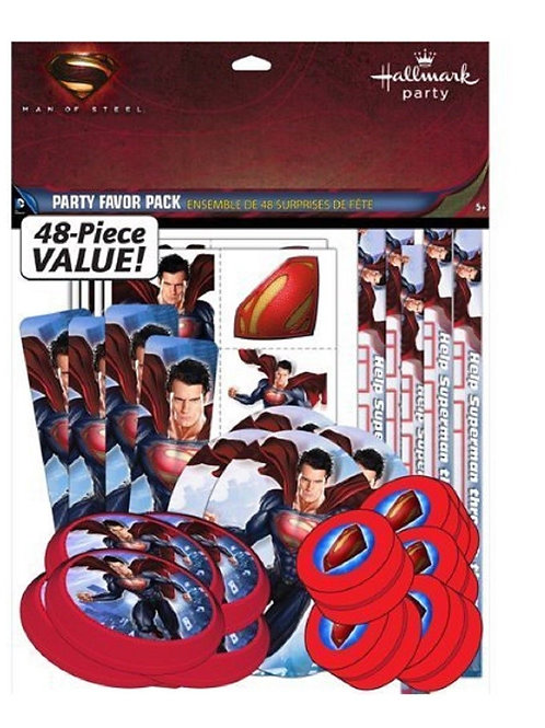Superman Party Favors Value Pack