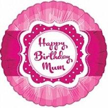 Foil Balloon Mum HBD