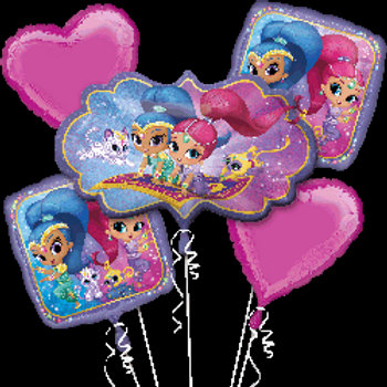 Balloon Bouquet Shimmer & Shine