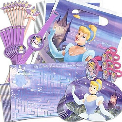 Cinderella Party Favors Value Pack