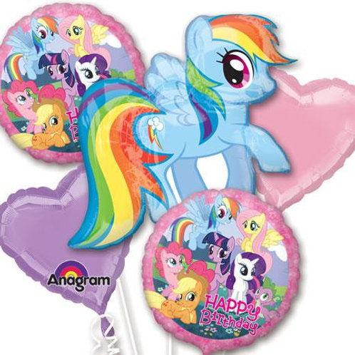 Balloon Bouquet My Little Pony Rainbow Dash