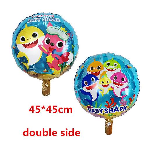 BABY SHARK foil balloons