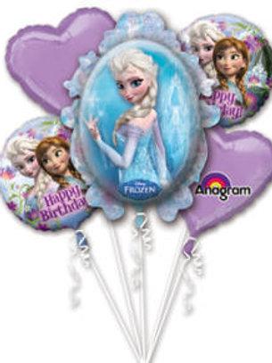 Balloon Bouquet Frozen