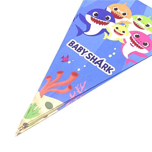 BABY SHARK flag banner