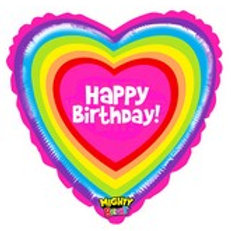 Balloon Super Shape HB Heart Vibrant