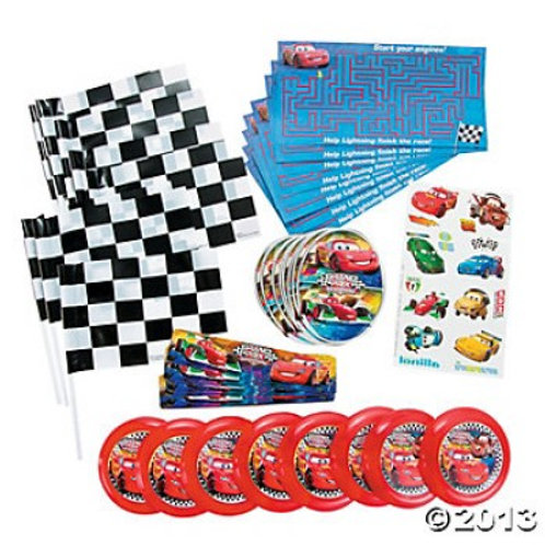 Cars Grand Prix Party Favors Value Pack
