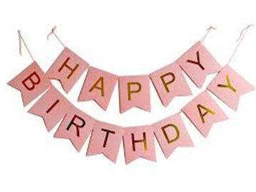 Happy Birthday Paper Bunting