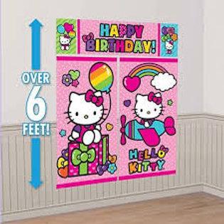 Scene Setter Hello Kitty Rainbow