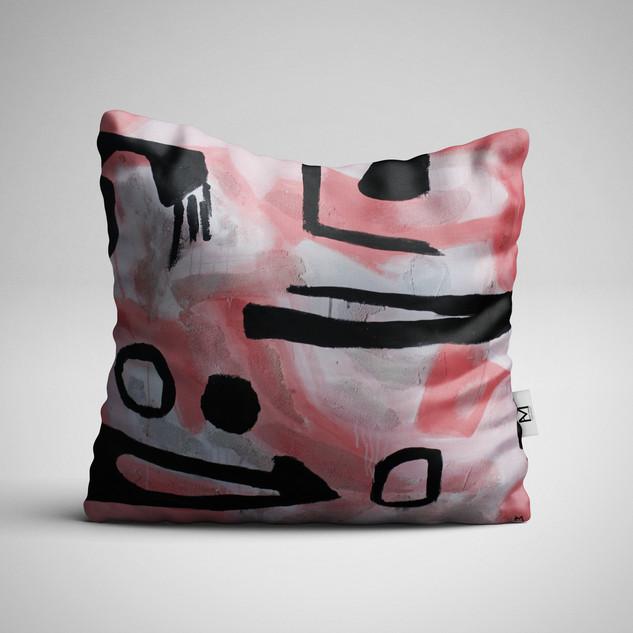 Pink Pillow/Print