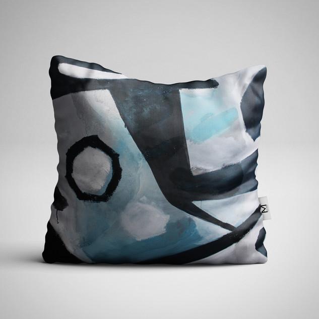 Blue Pillow/Print