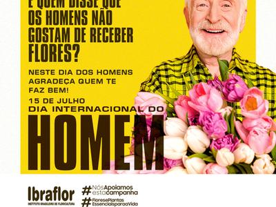 Dia do Homem! E quem disse que os homens não gostam de receber flores
