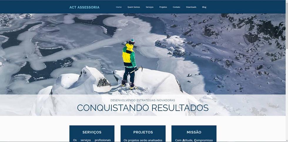 Site ACT Assessoria