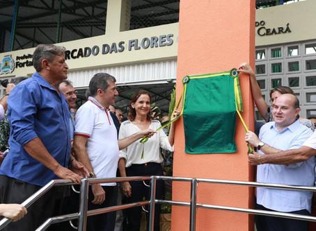 Novo Mercado de Flores de Fortaleza CE