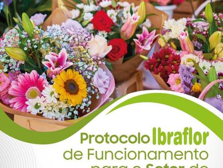 NOVO: Protocolo IBRAFLOR de Funcionamento para Setor de Floriculturas e afins.