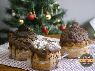 Deliciosos Chocotones Trufados no Natal da Kéndi!