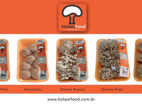 HolamFood Cogumelos Amplia Produção