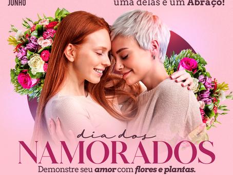 Dia dos Namorados já supera a expectativas com a venda de flores e plantas