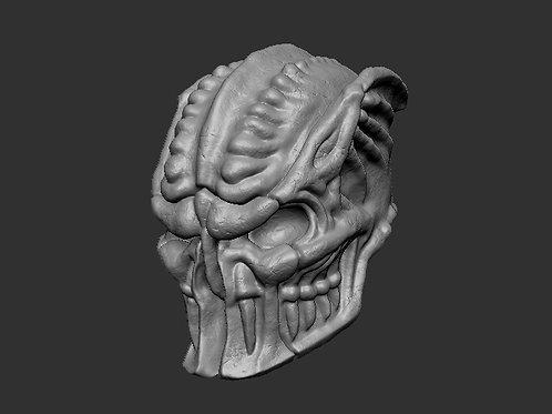"Mortem Knight Head 6"" Scale"