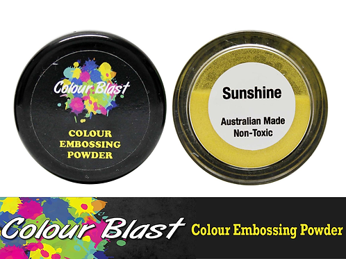 Colour Blast by Bee Arty Embossing Powder - Sunshine