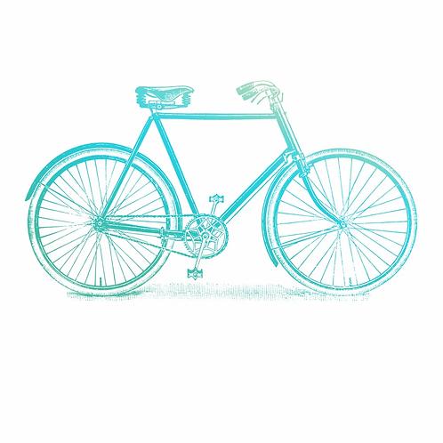Couture Creations Gentleman's Emporium Mini Stamp - Bicycle