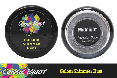Colour Blast by Bee Arty Colour Shimmer Dust - Midnight