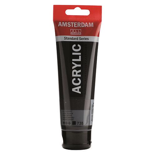 Amsterdam Standard Series Acrylic Paint - Oxide Black