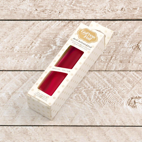 Couture Creations Hot Foil - Red Rose Mirror Finish