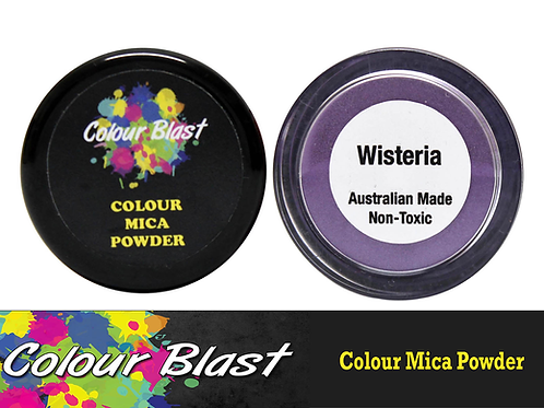 Colour Blast by Bee Arty Colour Mica Powder - Wisteria