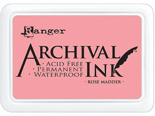 Ranger Archival Ink - Rose Madder
