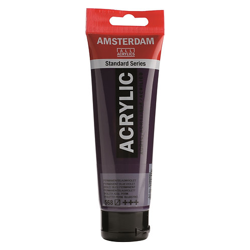 Amsterdam Standard Series Acrylic Paint - Permanent Blue Violet