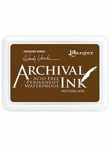 Ranger Archival Ink - Potting Soil