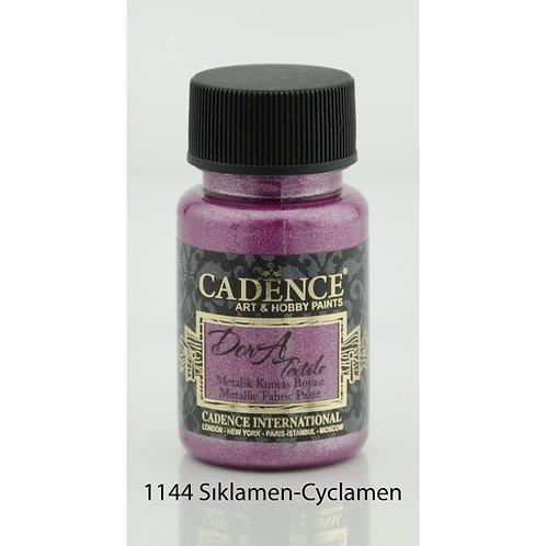 Cadence Dora Metallic Fabric Paint - 1144 Cyclamen