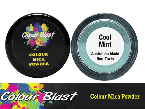 Colour Blast by Bee Arty Colour Mica Powder - Cool Mint