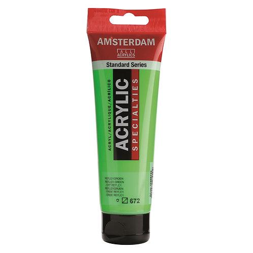 Amsterdam Standard Series Acrylic Paint - Reflex Green