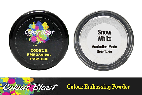 Colour Blast by Bee Arty Embossing Powder - Snow White