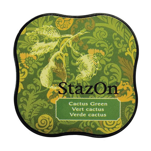 StazOn Midi Ink Pad - Olive Green