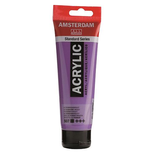 Amsterdam Standard Series Acrylic Paint - Ultramarine Violet