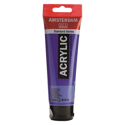 Amsterdam Standard Series Acrylic Paint - Ultramarine
